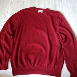 Article 365 Cotton/Cashmere Crew Neck Sweater
